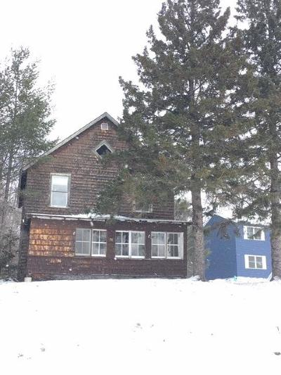 Lake Placid NY Single Family Home For Sale: $159,000