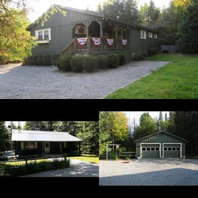 Single Family Home For Sale: 337-349 Adirondack Lake Rd