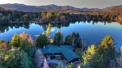 Bloomingdale, Lake Placid, North Elba, Ray Brook, St Armand, Brighton, Franklin, Gabriels, Harrietstown, Lake Clear, Lake Titus, Loon Lake, Onchiota, Paul Smiths, Rainbow Lake, Santa Clara, Saranac Inn, Saranac Lake, Upper Saranac Lake, Vermontville Single Family Home For Sale: 484 Mirror Lake Drive
