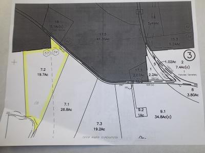 Franklin County Residential Lots & Land For Sale: . Deer River (Sub 3) - Aiken Road