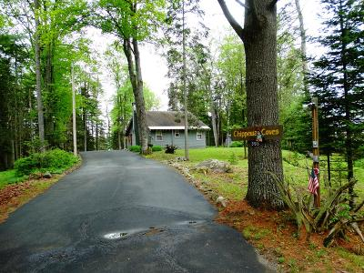 Single Family Home For Sale: 393 Adirondack Lake Rd