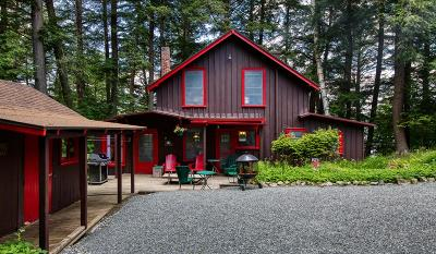 Saranac Lake Single Family Home For Sale: 932 Kiwassa Lake Road