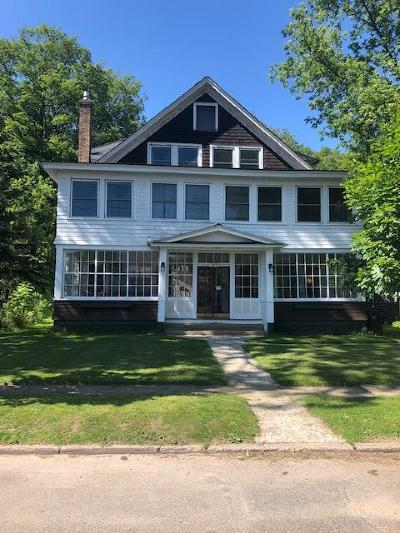 Essex County, Franklin County Multi Family Home For Sale: 145 Park Ave