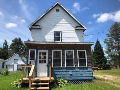Tupper Lake, Long Lake, Cranberry Lake, Star Lake Single Family Home For Sale: 6 Underwood Rd