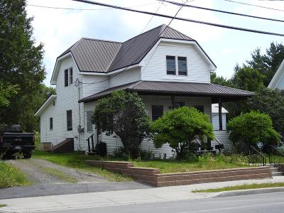 Tupper Lake, Long Lake, Cranberry Lake, Star Lake Single Family Home For Sale: 61 Wawbeek Ave.