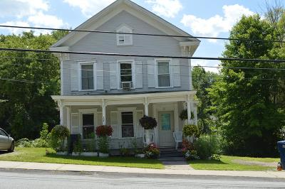 Essex County, Franklin County Multi Family Home For Sale: 83 Clinton Street