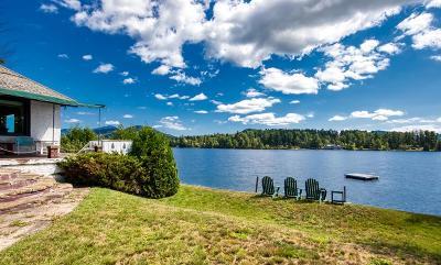 Lake Placid, Saranac Lake, Tupper Lake Single Family Home For Sale: 10-14 Grace Way
