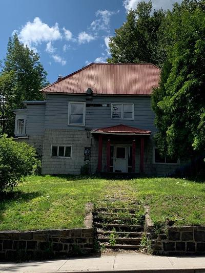 Saranac Lake Single Family Home For Sale: 211 Broadway