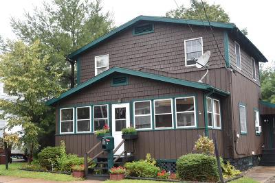 Saranac Lake Single Family Home For Sale: 15 McClelland Ave
