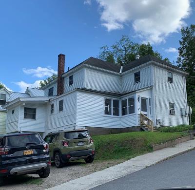 Saranac Lake Multi Family Home For Sale: 6 Garden Street