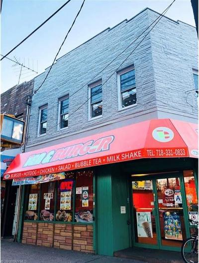 Brooklyn Commercial Mixed Use For Sale: 7202 New Utrecht Avenue