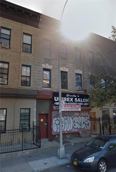 Brooklyn Commercial Mixed Use For Sale: 47 Buffalo Street