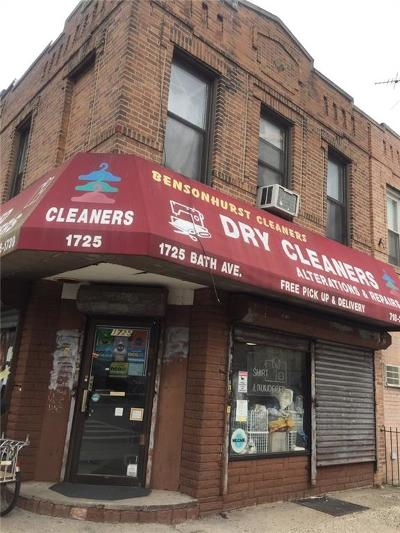 Brooklyn Commercial Mixed Use For Sale: 1725 Bath Avenue