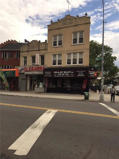 brooklyn Commercial Mixed Use For Sale: 332 Kings Highway