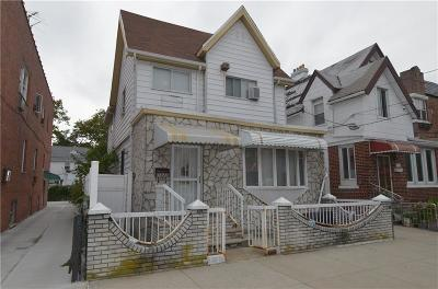 Brooklyn Single Family Home For Sale: 1622 68 Street