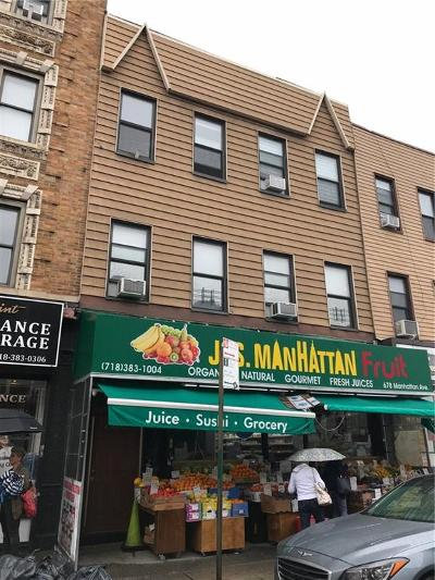 Brooklyn Commercial Mixed Use For Sale: 678 Manhattan Avenue