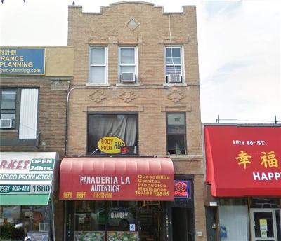 Brooklyn Commercial Mixed Use For Sale: 1878 86 Street