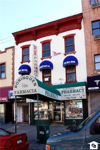 brooklyn Commercial For Sale: 106 Graham Avenue