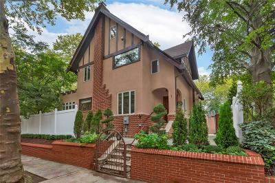 Brooklyn NY Single Family Home For Sale: $2,195,000