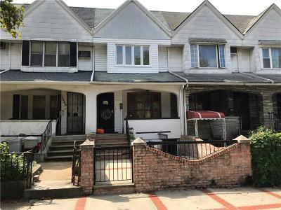 Brooklyn NY Single Family Home For Sale: $1,098,000