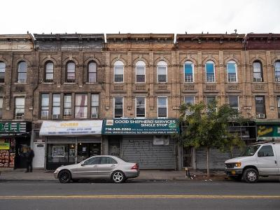 Brooklyn Commercial Mixed Use For Sale: 595 Sutter Avenue