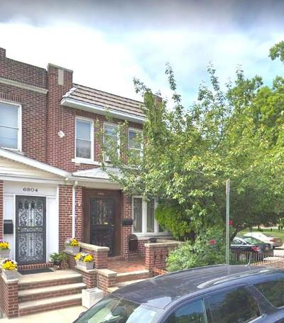 Brooklyn NY Single Family Home For Sale: $1,150,000
