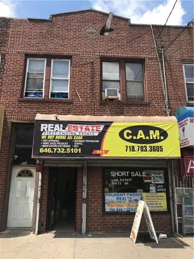 Brooklyn Commercial Mixed Use For Sale: 924 Utica Avenue