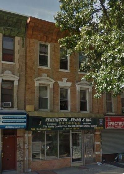 Brooklyn Commercial Mixed Use For Sale: 544 McDonald Avenue