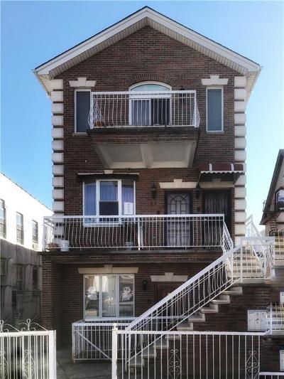 Brooklyn NY Single Family Home For Sale: $780,000