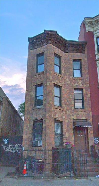 Brooklyn NY Multi Family Home For Sale: $3,300,000