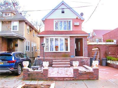 Brooklyn NY Single Family Home For Sale: $1,479,000