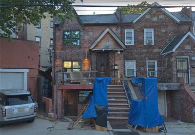 Brooklyn NY Single Family Home For Sale: $649,000