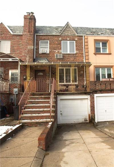 Brooklyn NY Single Family Home For Sale: $888,000