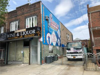 Brooklyn Commercial Mixed Use For Sale: 1811 Stillwell Avenue