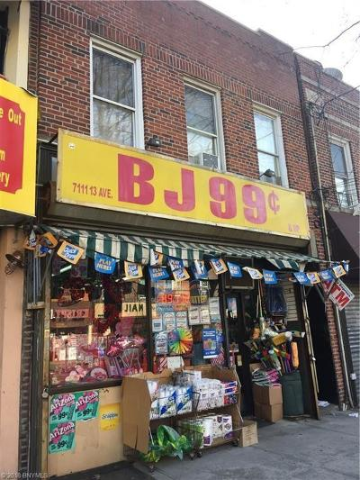 Brooklyn Commercial Mixed Use For Sale: 7111 13 Avenue