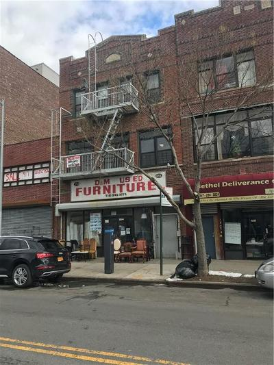 Brooklyn Commercial Mixed Use For Sale: 393 Rockaway Avenue