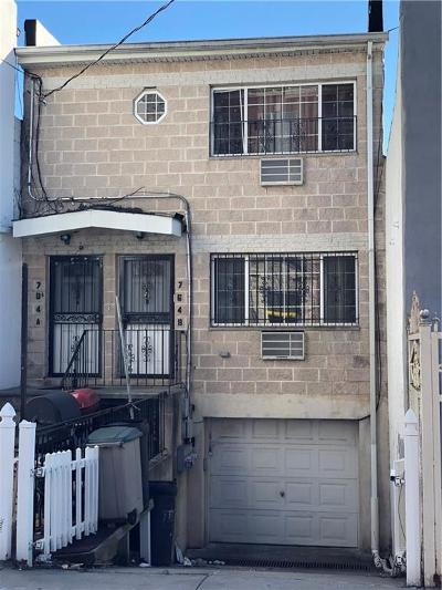 Brooklyn Multi Family Home For Sale: 764 Wortman Avenue