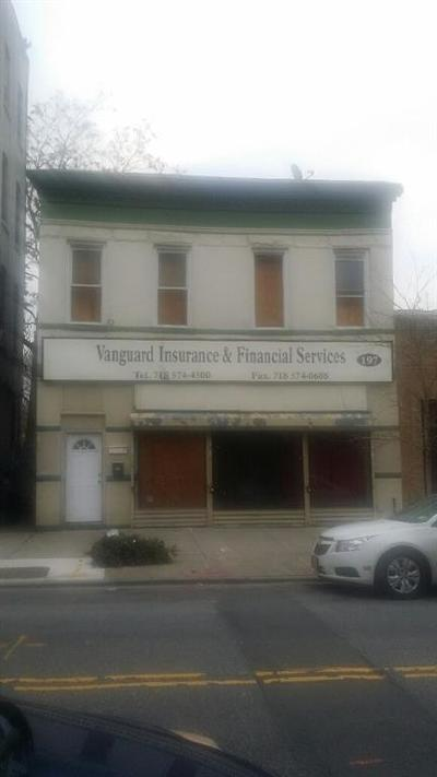 Brooklyn Commercial Mixed Use For Sale: 197 Ralph Avenue