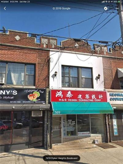 Brooklyn Commercial Mixed Use For Sale: 7419 13 Avenue