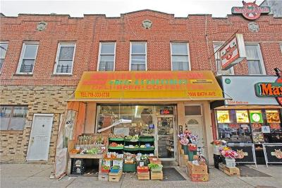 Brooklyn Commercial Mixed Use For Sale: 2006 Bath Avenue