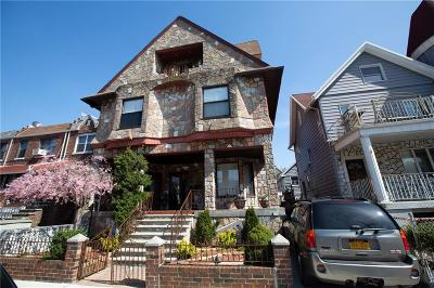 Brooklyn NY Multi Family Home For Sale: $2,500,000