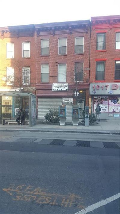 Brooklyn Commercial Mixed Use For Sale: 1015 Bedford Avenue
