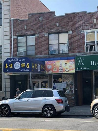 Brooklyn Commercial Mixed Use For Sale: 7118 18 Avenue