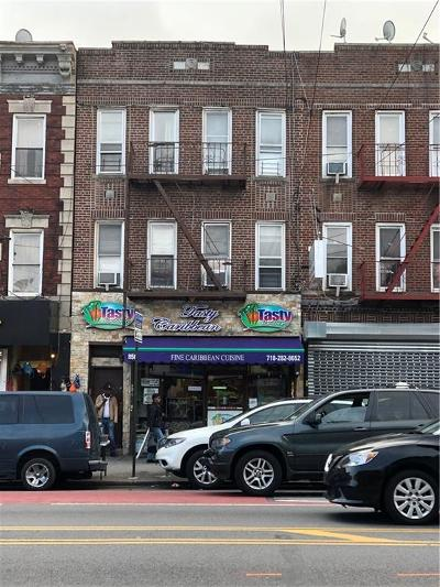 Brooklyn Commercial Mixed Use For Sale: 856 Utica Avenue