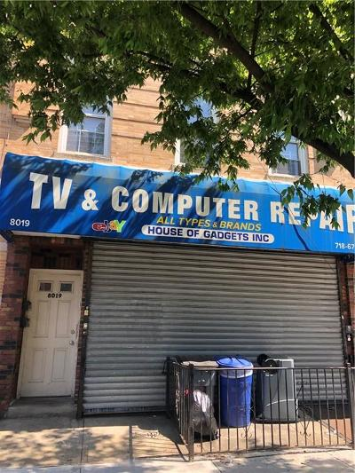 Brooklyn Commercial Mixed Use For Sale: 8019 17 Avenue