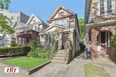 Brooklyn Single Family Home For Sale: 1365 East 19 Street