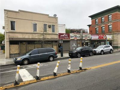 Brooklyn Commercial Mixed Use For Sale: 1901 Bath Avenue
