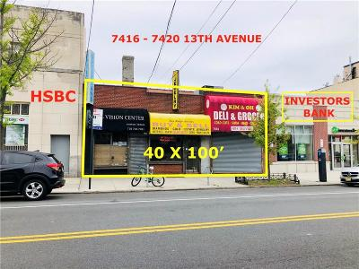 Brooklyn Commercial Lease For Lease: 7416-7420 13 Avenue