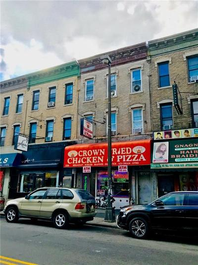Brooklyn Commercial Mixed Use For Sale: 226 Utica Avenue