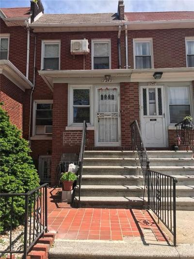 Brooklyn Single Family Home For Sale: 1245 79 Street